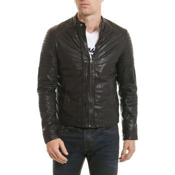 Vêtements Homme Vestes en cuir / synthétiques Serge Pariente SH COOL BLACK ZZ Noir