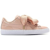 Chaussures Femme Baskets mode Puma France BASKET HEART PATENT Blanc