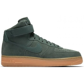 Chaussures Homme Baskets montantes Nike AIR FORCE 1 HIGH '07 LV8 SUEDE / VERT Vert