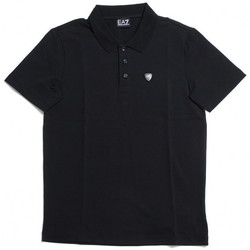 Vêtements Homme Polos manches courtes Emporio Armani EA7 Polo  - 3YPF93-PJ20Z-1200 Noir
