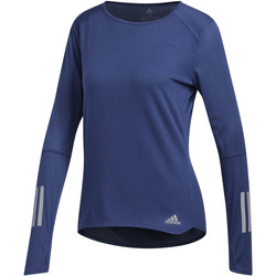 Vêtements Femme T-shirts manches longues adidas Performance T-shirt Response blue