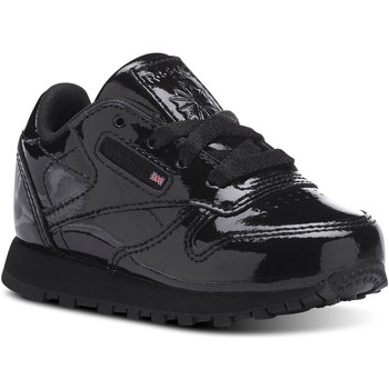 Chaussures Enfant Baskets basses Reebok Classic Classic Leather Patent Noir