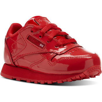 Chaussures Enfant Baskets basses Reebok Classic Classic Leather Patent Red