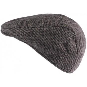 Accessoires textile Homme Casquettes Nyls Création Casquette plate grise en laine Burglar Gris