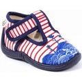 Chaussures Fille Chaussons Babybotte Chaussons Tissu MIKI bleu