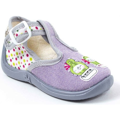 Babybotte Chaussons Fille gris MIMOSA gris - Chaussures Chaussons Femme