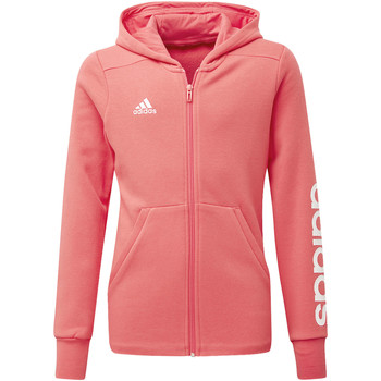 Vêtements Fille Vestes de survêtement adidas Performance Veste à capuche Essentials 3-Stripes Mid Blanc