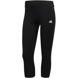 Vêtements Femme Leggings adidas Performance Tight 3/4 Response 3-Stripes Noir / Blanc