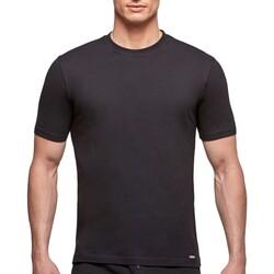Vêtements Homme T-shirts manches courtes Impetus T-shirt homewear col rond Essentials noir Noir