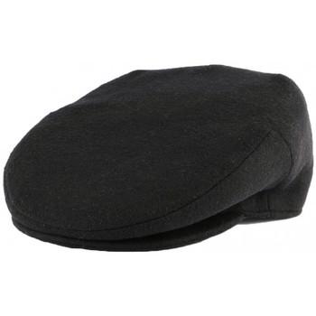 Accessoires textile Homme Casquettes Léon Montane Casquette Plate Noire en laine Création Française Noir