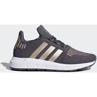 Chaussures Fille Baskets basses adidas Originals Chaussure Swift Run Marron / Blanc