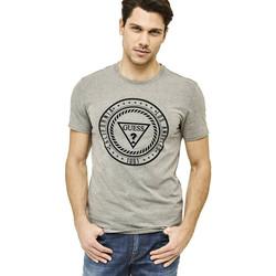 Vêtements Homme T-shirts manches courtes Guess T-Shirt Homme Heal Itself Gris Gris