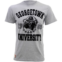 Vêtements Homme T-shirts manches courtes American Freshman JUNIPER TEE Tee Shirt Homme Georgetown University grisape01096