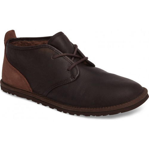 Chaussures Homme Boots UGG Chaussure  Maksim - Ref. MAKSIM-GRIZZLY Marron