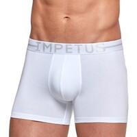 Vêtements Homme Boxers / Caleçons Impetus Boxer coton stretch Essentials blanc Blanc