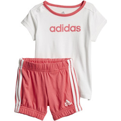 Vêtements Fille Ensembles enfant adidas Performance Ensemble été Easy Blanc