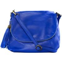 Sacs Femme Sacs porté épaule Oh My Bag Sac à Main cuir souple - Modèle 72 heures (petit) bleu roi BLEU ROI