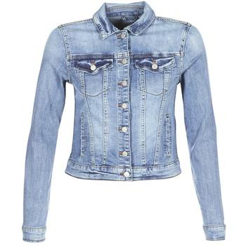 56d9a0d0ba11 Vêtements Femme Vestes en jean Vila VISHOW Bleu médium