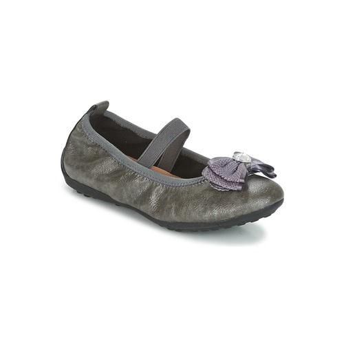 Chaussures Fille Geox J BallerinesBabies Gris Piuma Ybgv67yIf