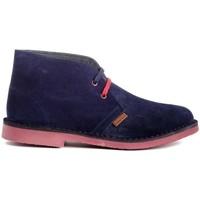 Chaussures Homme Boots Colour Feet MOGAMBO Bleu