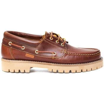 Chaussures Homme Chaussures bateau Colour Feet NAUTIC Marron