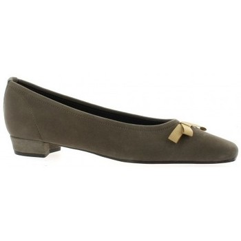 Chaussures Femme Ballerines / babies Elizabeth Stuart Escarpins cuir velours Taupe