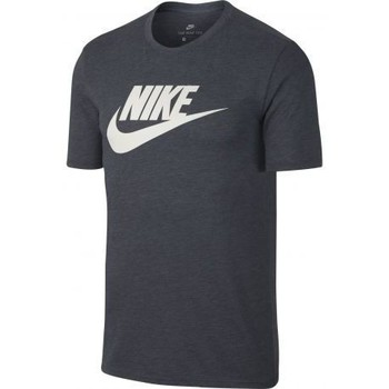 Vêtements Homme T-shirts manches courtes Nike Tee shirt Sportswear Gris anthracite