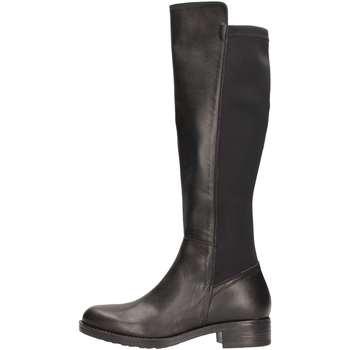 Chaussures Femme Bottes ville Donnapiu' DONNAPIU' 09318 Botte Femme Noir Noir