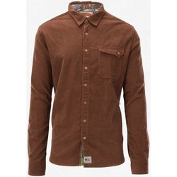 Vêtements Homme Chemises manches longues Picture Organic Clothing Hillsboro Shirt Men Chocolat