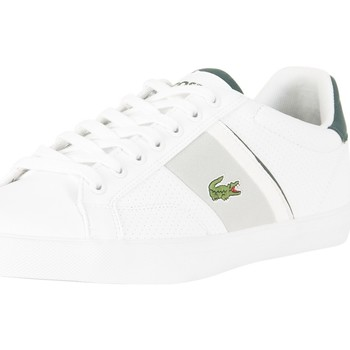 Chaussures Homme Baskets basses Lacoste Homme Fairlead 118 1 CAM Trainers, Blanc blanc