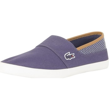 Chaussures Homme Slips on Lacoste Homme Marice 118 1 CAM Trainers, Bleu bleu