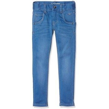 Vêtements Garçon Jeans Name It Kids NITCLAS DNM MEDIUM BLUE Bleu