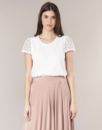 Vêtements Femme Tops / Blouses Betty London I-LOVI Blanc
