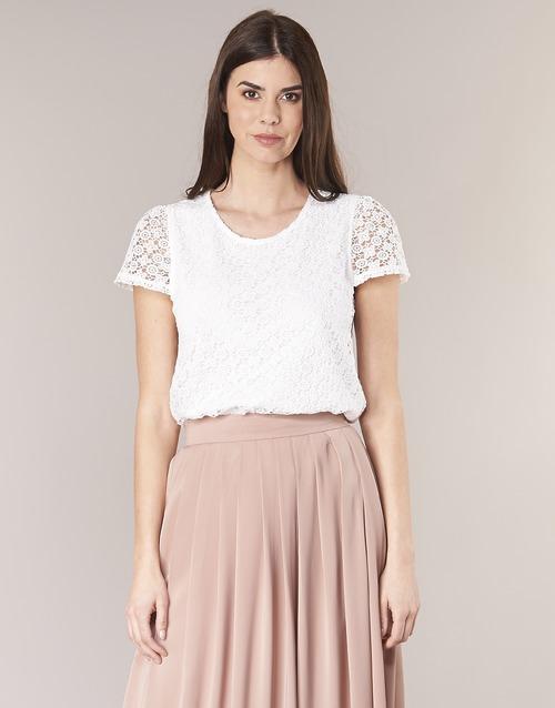 Vêtements Femme Tops / Blouses Betty London I-LOVI Blanc
