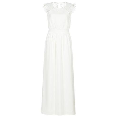 Vêtements Femme Robes longues Betty London ILOVEYOU Blanc