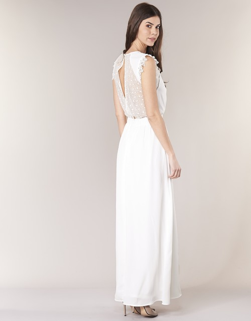 ILOVEYOU  Betty London  robes longues  femme  blanc