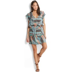 Vêtements Femme Robes courtes Seafolly Robe de plage  Moroccan Moon Turquoise TURQUOISE