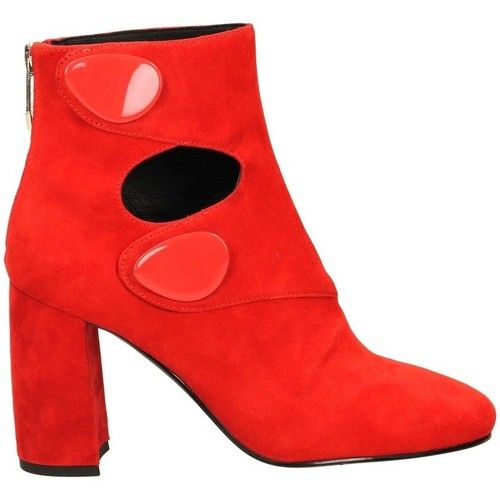 Chaussures Femme Bottines What For SABIE rouge