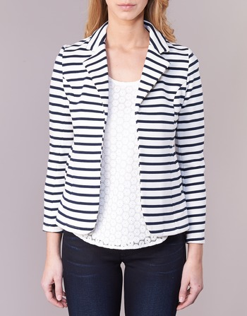 Blanc Femme Mood Moony Ifarouche VestesBlazers Vêtements Marine tQhdsrC