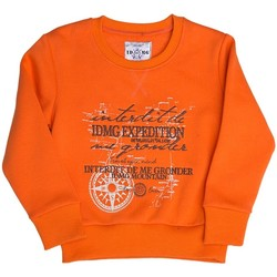 Vêtements Enfant Pulls Interdit De Me Gronder Pull orange TRAVEL Orange
