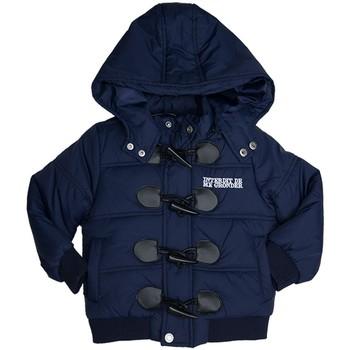Vêtements Enfant Doudounes Interdit De Me Gronder Manteau avec capuche AVIA Bleu