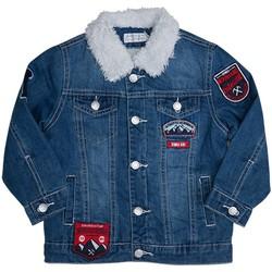 Vêtements Enfant Vestes en jean Interdit De Me Gronder Veste en jean LOOKY Bleu