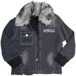 Vêtements Enfant Vestes Interdit De Me Gronder Veste en jean YOKA Noir