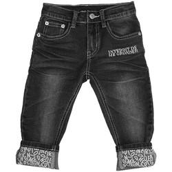 Vêtements Enfant Shorts / Bermudas Interdit De Me Gronder Jean pantacourt DIDO Blanc