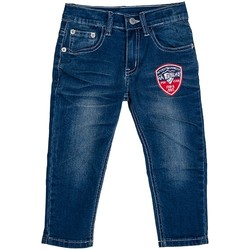 Vêtements Enfant Jeans droit Interdit De Me Gronder Jean avec motif sur le devant LINA Bleu marine
