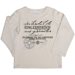Vêtements Enfant Sweats Interdit De Me Gronder T-shirt manches longues EXPEDITION Beige