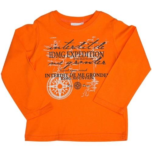 Vêtements Enfant Sweats Interdit De Me Gronder Expédition Orange