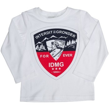 Vêtements Enfant Sweats Interdit De Me Gronder ALPES Blanc