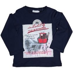 Vêtements Enfant Sweats Interdit De Me Gronder T-shirt manches longues avec imprimé HIMALAYA Bleu marine
