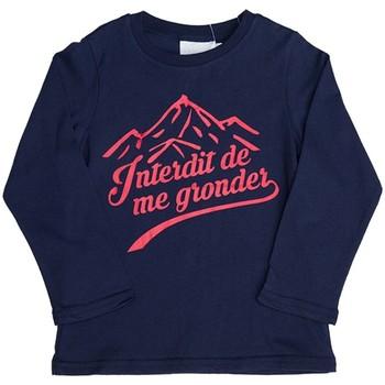 Vêtements Enfant Sweats Interdit De Me Gronder Sweat-shirt avec manches longues ANAPURNA Bleu marine